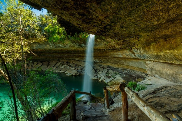 Waterfalls in Fentress | Waterfalls in Texas Hill Country