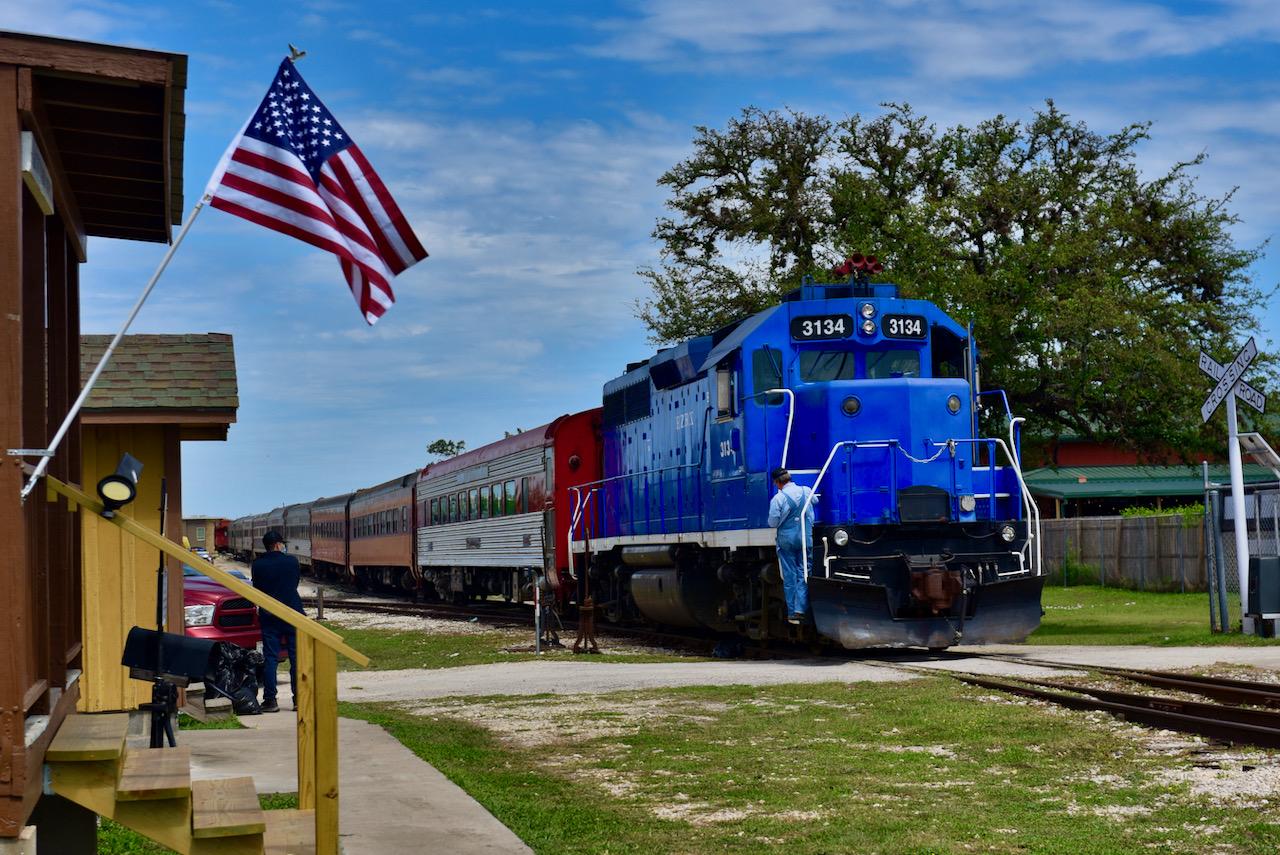 All Aboard the Austin Steam Train!