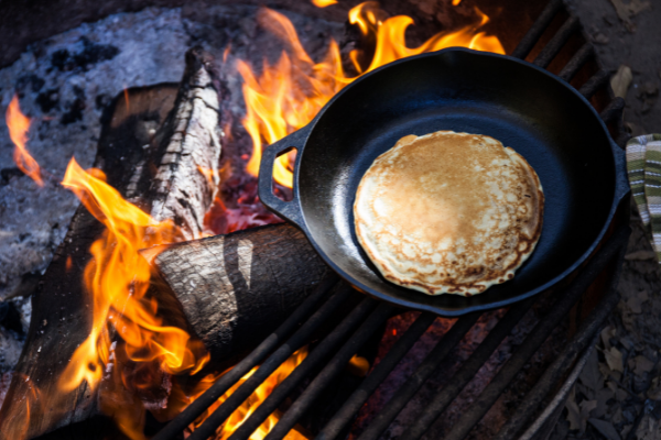 Beer Pancakes   RV Camping Recipe